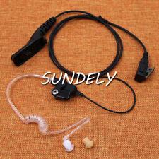 Fastship 2 Wire Earphone earpiece Motorola Apx4000 Apx6000 Apx6500 Apx7000 Radio