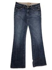 Paige Jeans Size 28 Flare Blue Denim Women's Casual Long
