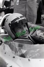 1968 Indy car racing Photo negative driver Mario Andretti