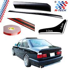 SPOILER BMW E34 1987-1996 SERIES 5 SPOILER TAB POLYURETHANE REAR ADHESIVE 3M