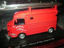 1:43 Del Prado Feuerwehr Citroen H-Type Integral Van 1947 VP