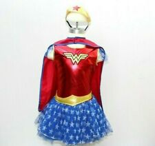 Rubie's Wonder Woman Costume Girls Size Med 8-10 Halloween Costume Comic