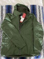 Marmot Men's Crocodile 4764 Full Zip Hooded Rain Jacket Size XL
