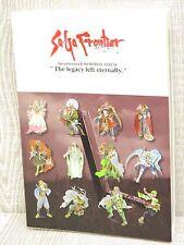 SAGA FRONTIER 2 Memorial Album Art Illustration Scenario Book T. KOBAYASHI DC32