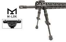 "UTG Recon Flex M-LOK Bipod Aircraft Aluminum Matte Black Center Height 5.7""-8"""