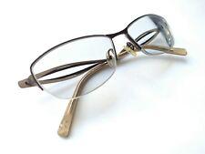 KOALI ornate pewter and bronze Uber mod rectangle eyeglass frames 55()16 135