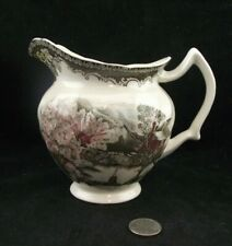 THE FRIENDLY VILLAGE MAPLE SYRUP JUG OR PITCHER  MADE IN ENGLAND