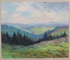 Rataje nad Sázavou, Hrazene Rataje, Tschechien, Aquarell,, um 1930