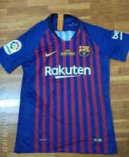 Camiseta jersey shirt maillot maglia trikot NIKE BARCELONA MATCH ISSUE L e1774d9a7e6eb