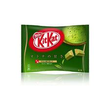 Nestle : Japanese KitKat Mini Not-Overly-Sweetened Matcha Flavor 12 packages