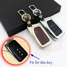 Metal Key Fob Case Bag Holder Cover For Lexus RX RC LX NX ES IS GS Accessories