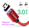 FLOVEME 3A Magnetic Micro USB/Type C Fast Charging Charger Data Sync Cable FR
