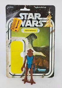 Vintage Star Wars Card 21 Back Hammerhead w/ Original Figure Complete