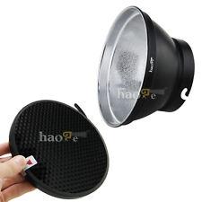 "7"" Standard Reflector + Honeycomb Grid for Elinchrom Studio Light Strobe Units"