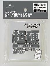 Over Sleeves Mini Card Game Character Guard Clear Super-Hard Bushiroad BSLC-012