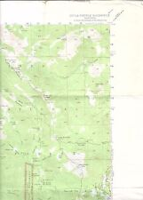 1953(1970) Devils Post Pile, CA USGS Topographic Map