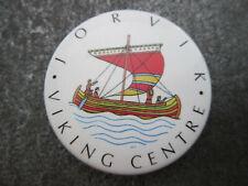 Jorvik Viking Centre Pin Badge Button (L8B)
