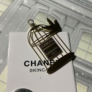 New, Chanel Birdcage Magnetic Pin