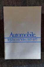 prospekt Volvo Automobile 1927-1977 50 Jahre RARITÄT s.g. Zustand