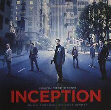 INCEPTION : Original Soundtrack Hans Zimmer (Clear LP Vinyl) sealed