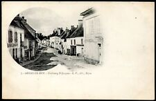 cpa 21 Arnay-le-Duc . Faubourg St-Jacques . Côte d'Or . Bourgogne