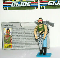 Vintage 1984 G.I. Joe RIPPER (V1) Dreadnok - FANTASTIC Condition w/BONUS EXTRAS