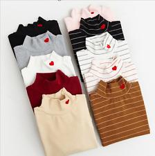 One Size 2017 harajuku shirt women rock korean spring funny long sleeve pink