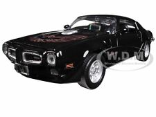1973 PONTIAC FIREBIRD TRANS AM BLACK 1/24 DIECAST CAR MODEL MOTORMAX 73243
