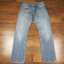 LEVI'S 514 MEN'S JEANS SLIM STRAIGHT ZIP FLY Light Wash Size 32x32 (30x31) EUC