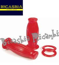 7626 - MANOPOLE BUBBLE ROSSE DM 22 VESPA 50 SPECIAL R L N 125 ET3 PRIMAVERA SS