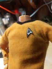 Headless Star Trek Ken Barbie Doll Captain Kirk w/ bonus shoes 1968 082320