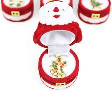 Collar de Navidad festiva en Santa Flocado Caja de Regalo-Diseño varía