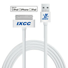 iXCC 10ft 30 Pin iPhone 4 4s Apple MFi Certified USB Sync Charge Lightning Cable