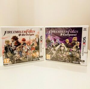 *NEW* Fire Emblem Fates x 2 Birthright & Conquest Nintendo 3DS Bundle. *TRACKED*