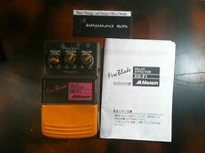 RARE MAXON DEF-F1 DELAY EFFECTS PEDAL EFFECTOR FIRE BLADE MADE IN JAPAN