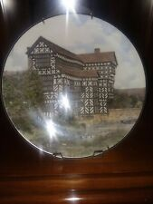 "Antique English Plate. Mint Condition. New. Royal Doulton. ""Tudor Mansion""."