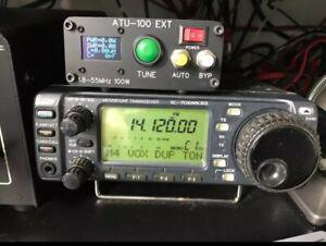 Automatic AntennaTuner100W 300mA 1.8-50MHz 0.96 OLED Display ATU100 W/ Shell