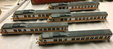 JOUEF France Lot de 5 VOITURES de VOYAGEURS Echelle HO Train ref 2047 TGV 117