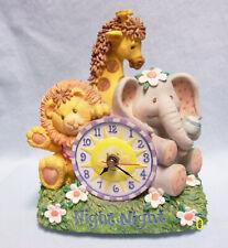 "Music Box; San Francisco Childrens 8"" Wind Up Music Box & Clock - Brahms Lullaby"