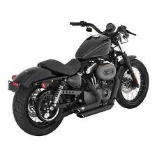 Vance & Hines ShortShots Staggered schwarz für Harley - Davidson Sportster 04-13