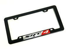 CARBON FIBER LOOK LICENSE PLATE TAG FRAME FOR DODGE NEON CALIBER SRT4 SRT-4