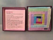 Brand New Sealed With Original Box Traditional Handmade Korean Cloth Coasters