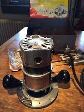 Vintage Black & Decker U 365 Router Kit U 367