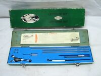 Vintage Tech Graphic Lettering Set Drafting Tool w/Case TG3S Engineering