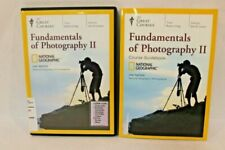 Fundamentals of Photography II 2 Great Courses National Geographic 4 DVDs Book