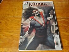 Morbius The Living Vampire #1 Ryan Brown Main Cover Marvel Comics Morbius NM