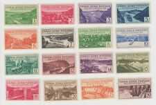 Canal Zone Mint Never Hinge Set #120-135