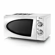 Swan White Manual Microwave 20 Litre 800 Watts SM3090N