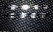 PCB Headers 1x40 Pin Male SIL/Strip/Edge Connector (Pair)