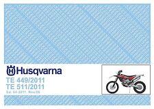 Husqvarna Parts Manual Book 2011 TE 449 & TE 511